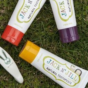 Jack N' Jill natural toothpaste for kids