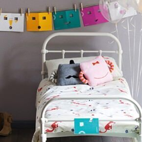 The Lowercase embroidered childrens bedlinen