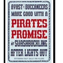 'Pirate Promises' posters by Empressionista