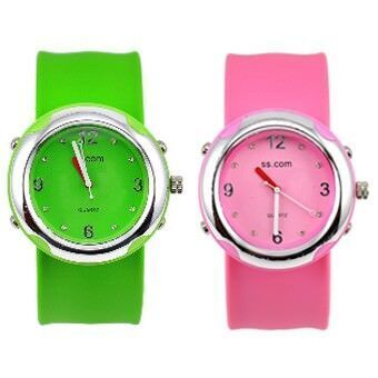 Silicone 'Slap' watches