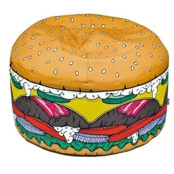 Woouf burger bean bag