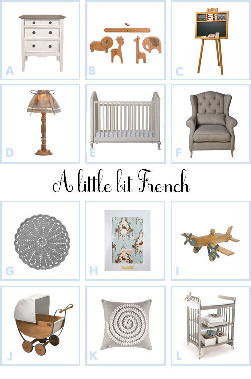 Dream room: a little bit French