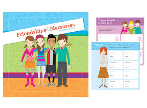 Friendships & Memories primary school memory book