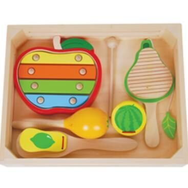 Discoveroo fruit musical instrument set