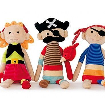 Pirate Pals soft toys available from Annabel Trends