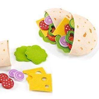 Educo gourmet pita pocket and salad set