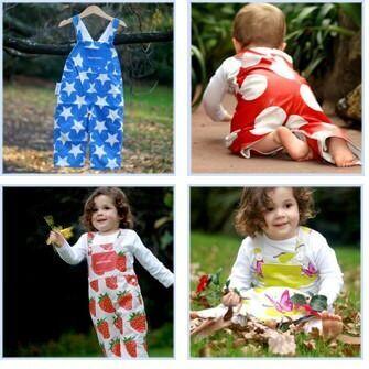 Overcrawls - eco friendly wipe-down babywear