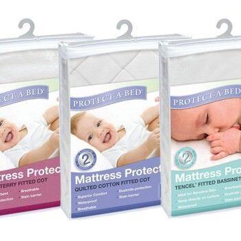 Protect-a-bed cot and bassinet matress protectors