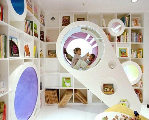 Space age playroom