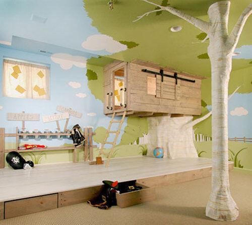 Inspiring playrooms - treehouse
