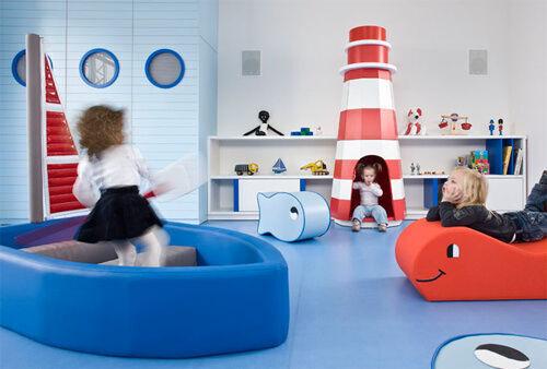 Inspiring playrooms - nautical theme
