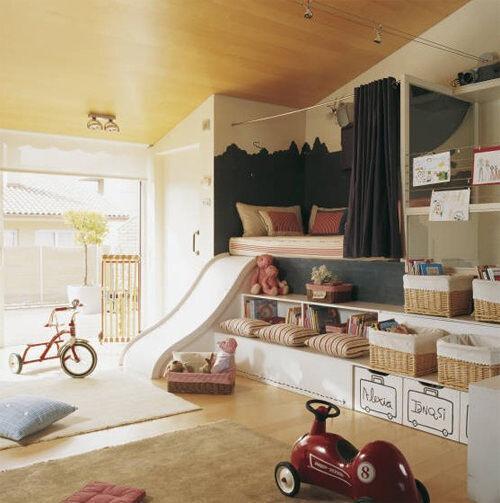 Inspiring playrooms - vintage feel