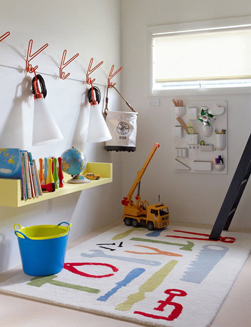 Inspiring playrooms - quirky storage ideas