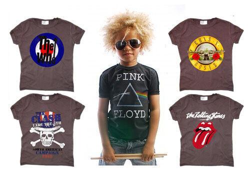 Amplified Kids rock band t-shirts