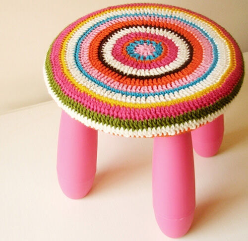 Ikea hack: kids' stool
