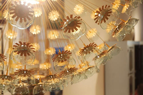 Ikea hack: sputnik chandelier