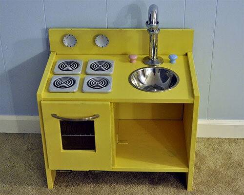 Ikea hack: play kitchen