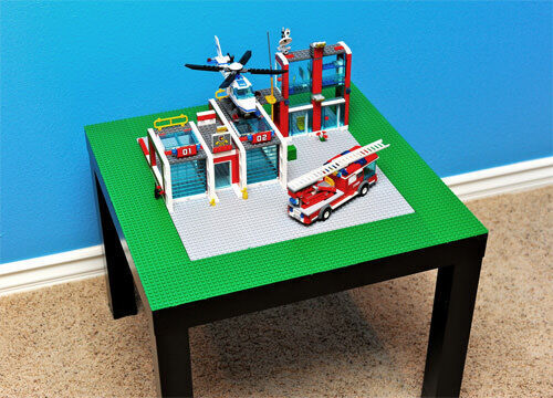 Ikea hack: LEGO play table
