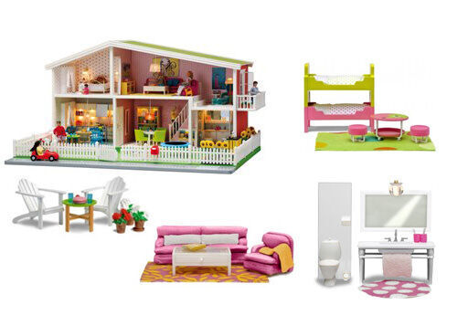 Newly renovated Lundby Smaland doll's house
