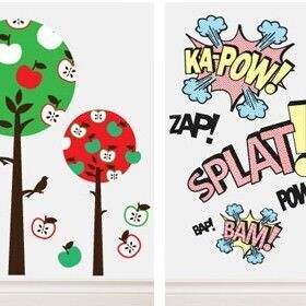 Nootles wall stickers