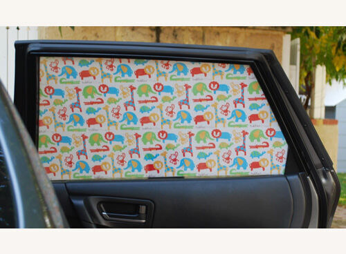 Toddler Tints car window shade decals