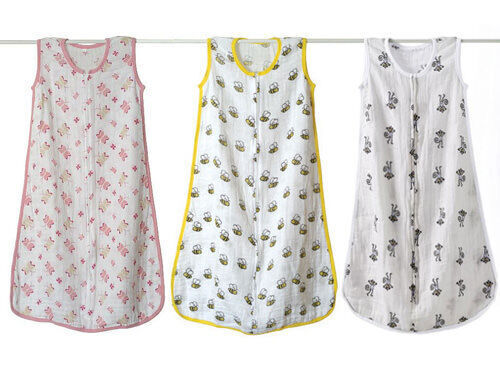 Aden + Anais summer weight muslin sleeping bags