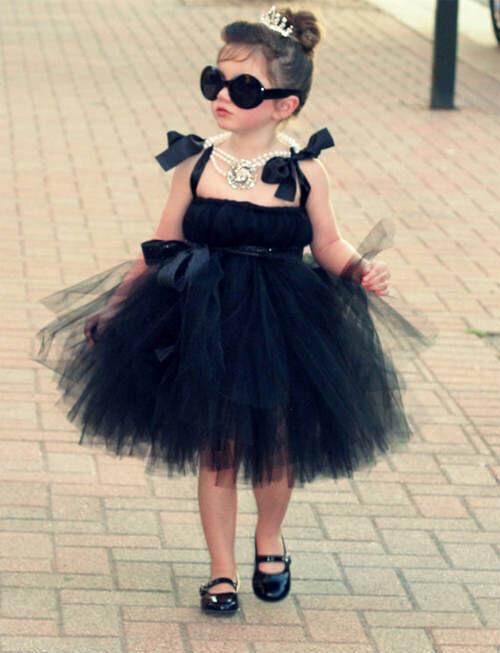 Kids' costumes: Audrey Hepburn