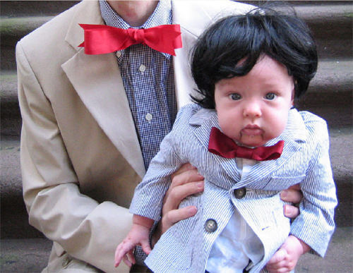 Kids' costumes: ventriloquist's doll