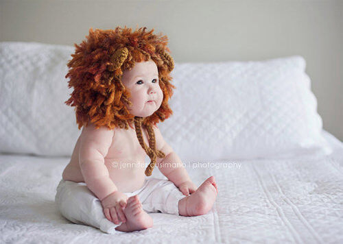 Kids' costumes: baby lion