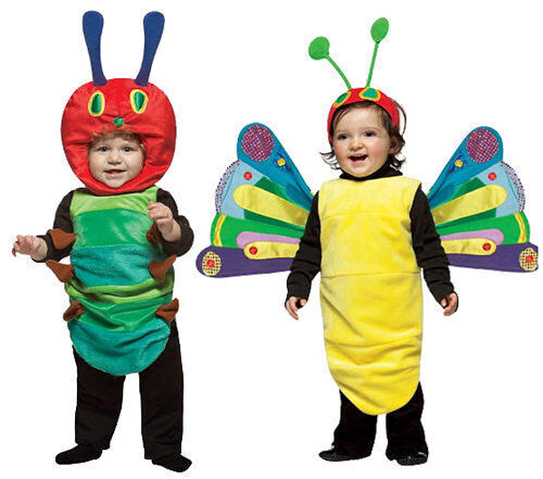 Kids' costumes: The Very Hungry Caterpillar