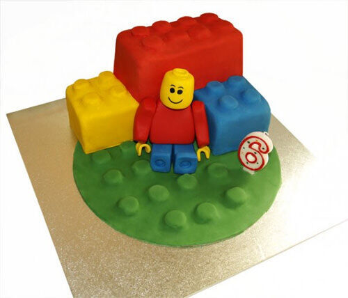 Lego cake by Carol Heath