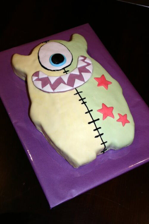 Monster cake by Amy Wilson