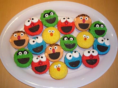 Sesame Street cupcakes by Jackie Floro