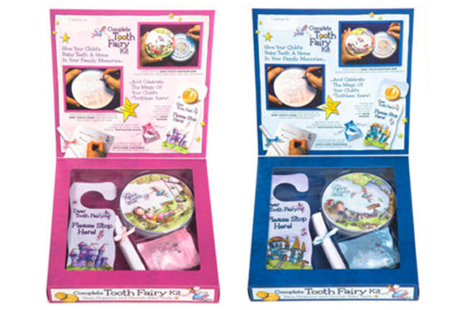 Tooth Fairy Kit Baby tooth Land