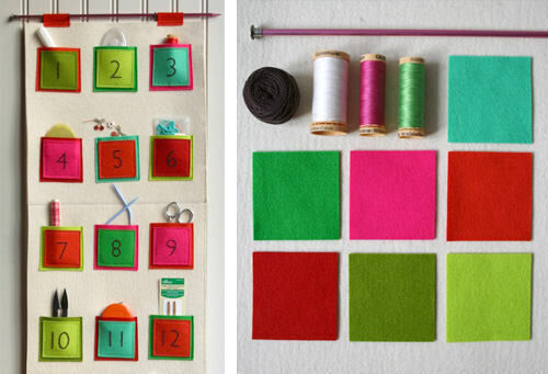 Advent calendar: DIY felt tutorial