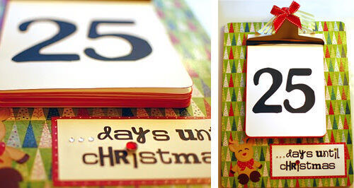 Advent calendar: clipboard