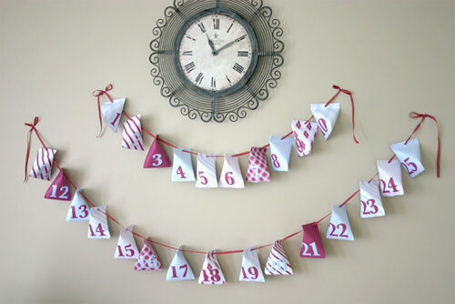 20 creative advent calendar ideas advent calendar garland solutioingenieria Images