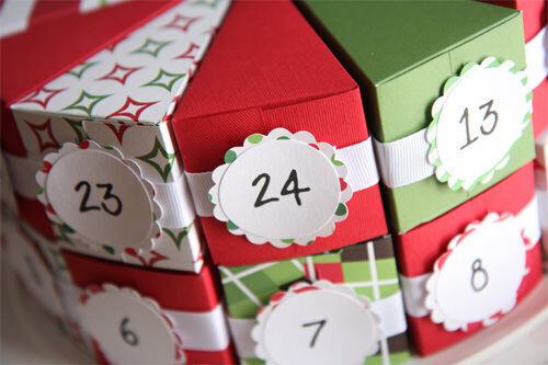 Advent calendar: Christmas cake