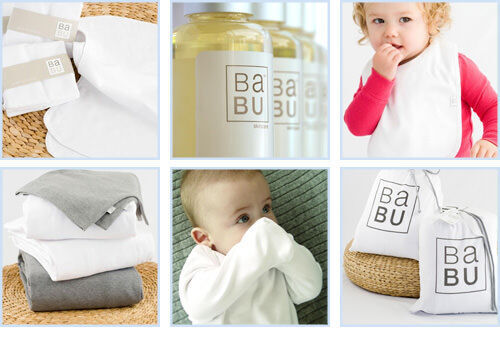 Baby gifts by Babu - linens, towels, clothing and more