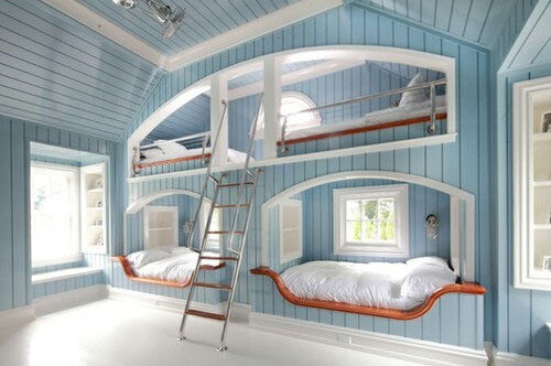 Bunk beds: New England style