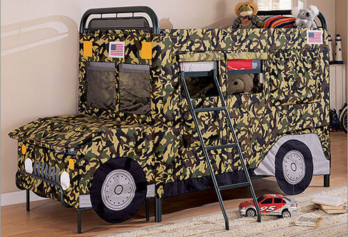 Bunk beds: jeep