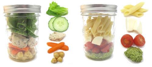 Picnic ideas in a jar