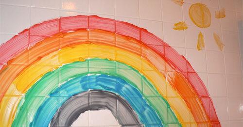 Make your own bath paints