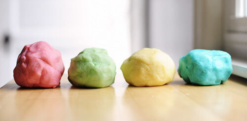 Make your own play doh