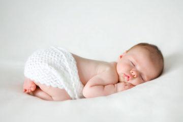 Cute baby sleeping