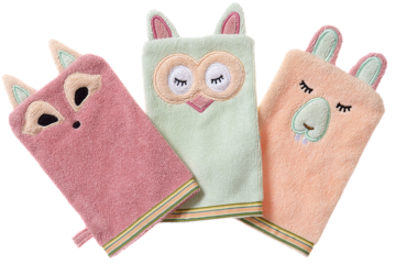 Breganwood Organics Bath Mitts