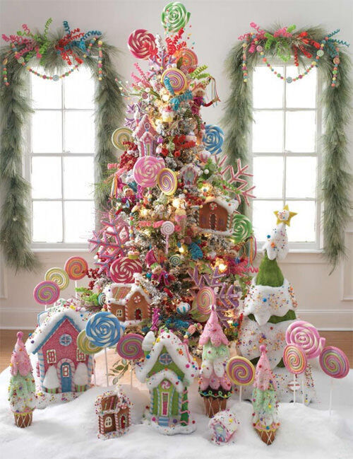 Christmas tree inspiration: candy tree