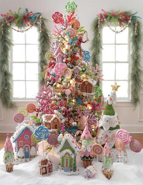 Christmas tree inspiration: candy tree