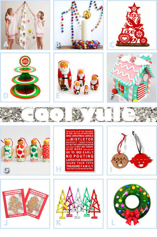 Cool and funky Christmas decorations