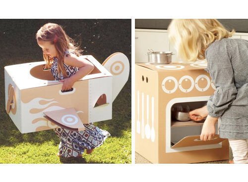 Flatour Frankie cardboard play sets